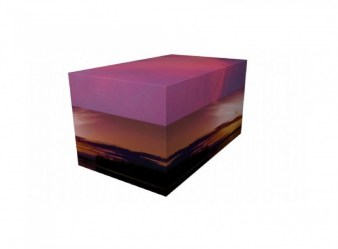 Evening Sunset - Ash Casket (Medium)