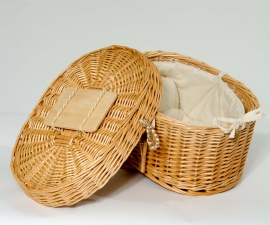 Prenatal/Infant Willow Baby Coffin - Petal