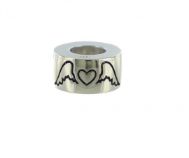 Angel Wings Cremation Bead