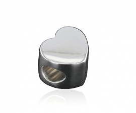 Heart Cremation Bead