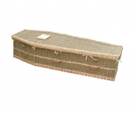 Natural Traditional Seagrass Coffin